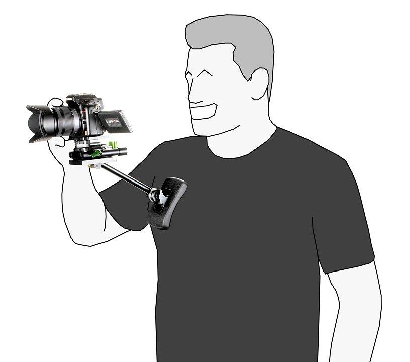 Mennekes mit Panasonic GH2 und Lanparte CP-01 Bruststütze.