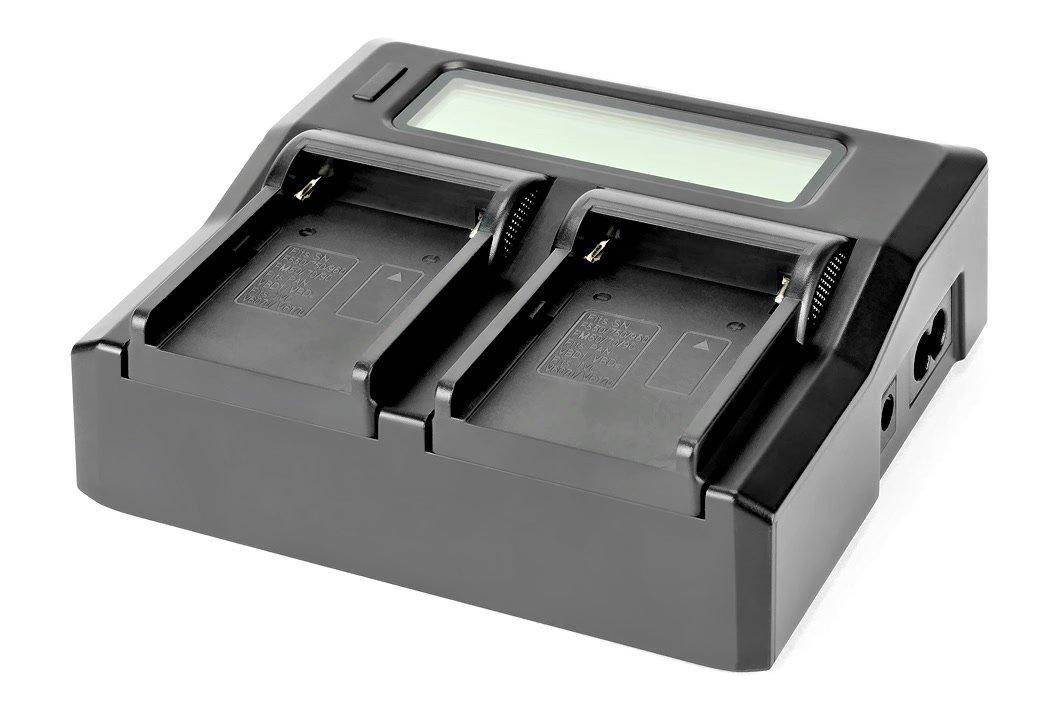 ROKO TC2-NPF Ladegerät für Sony NP-F / NP-FM Akkus.