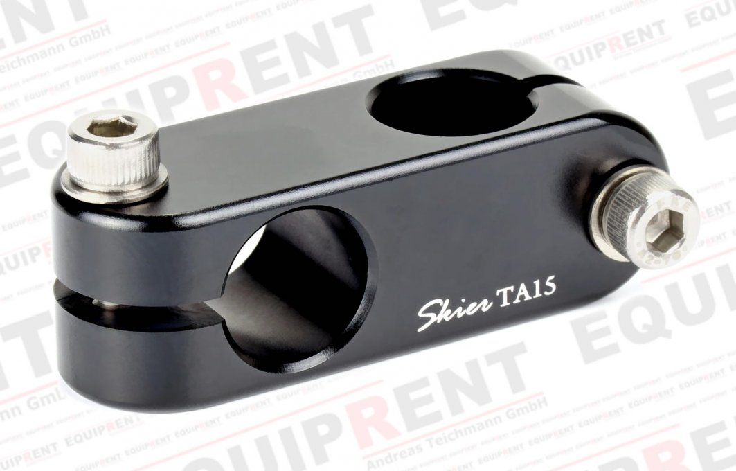 Skier Handle Connector flacher 90 Grad Verbinder für 15mm (AAA4113).