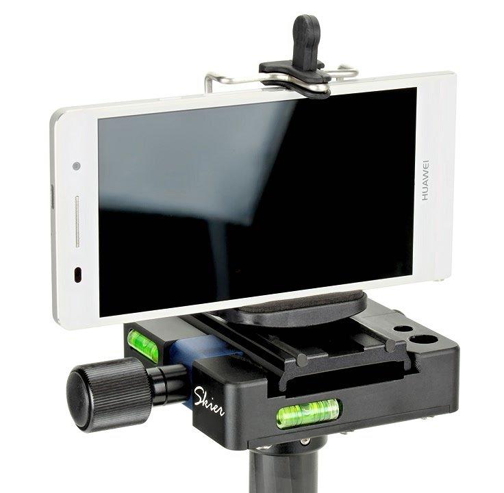 Huawei P6 Smartphone auf Steadycam.