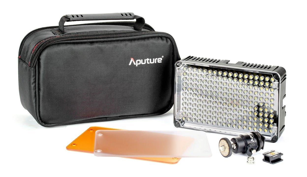 Die Amaran AL-H198 LED Leuchte wird mit viel Zubehör geliefert.