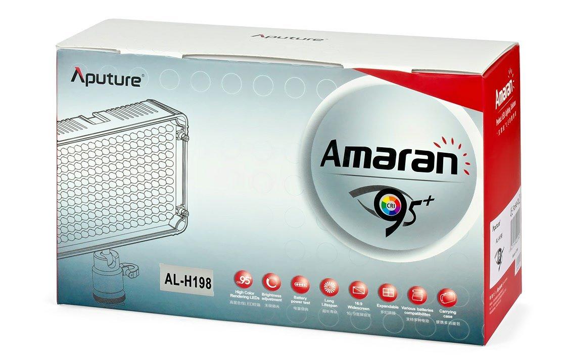 Aputure Amaran AL-H198 Verpackung.