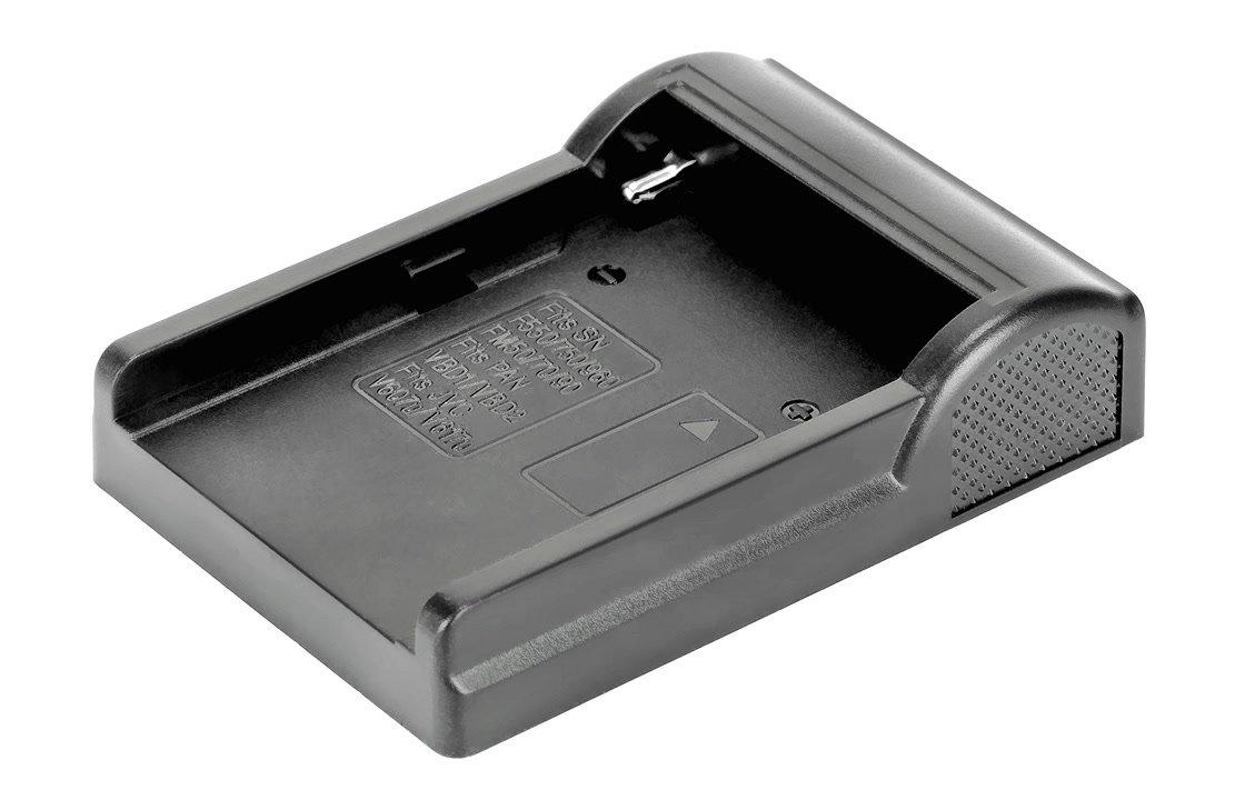 NP-F und NP-FM Akkuschale für Ladegerät.