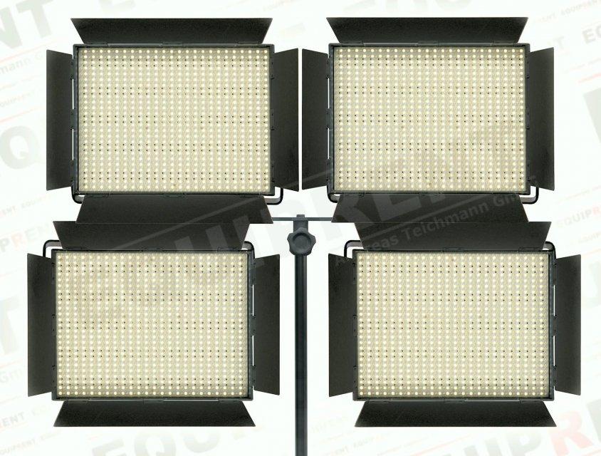4-fach Zapfen Adapter für Lichtstative Foto Nr. 1