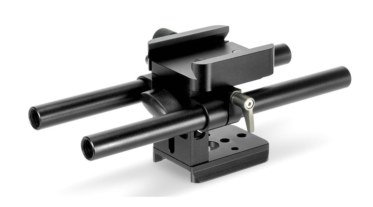 THOR Video RPS-15 Baseplate mit 15mm Rod Halterung.