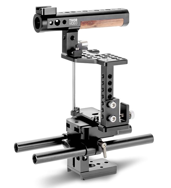 THOR Video RPS-15 Baseplate mit SC-7S Cage.