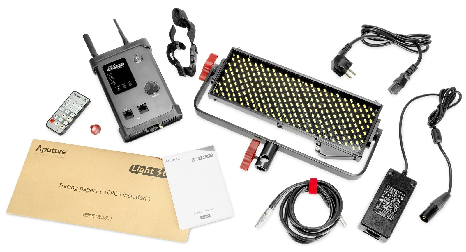 Aputure Light Storm 1/2w LED Leuchte | EQUIPRENT-Shop