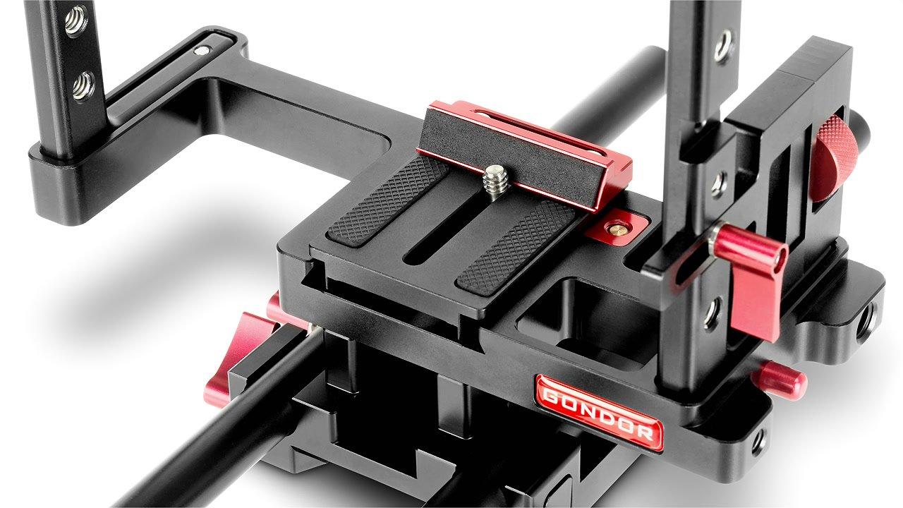 Plattform für DSLR ausgestattet mit Anti Twist Funktion.