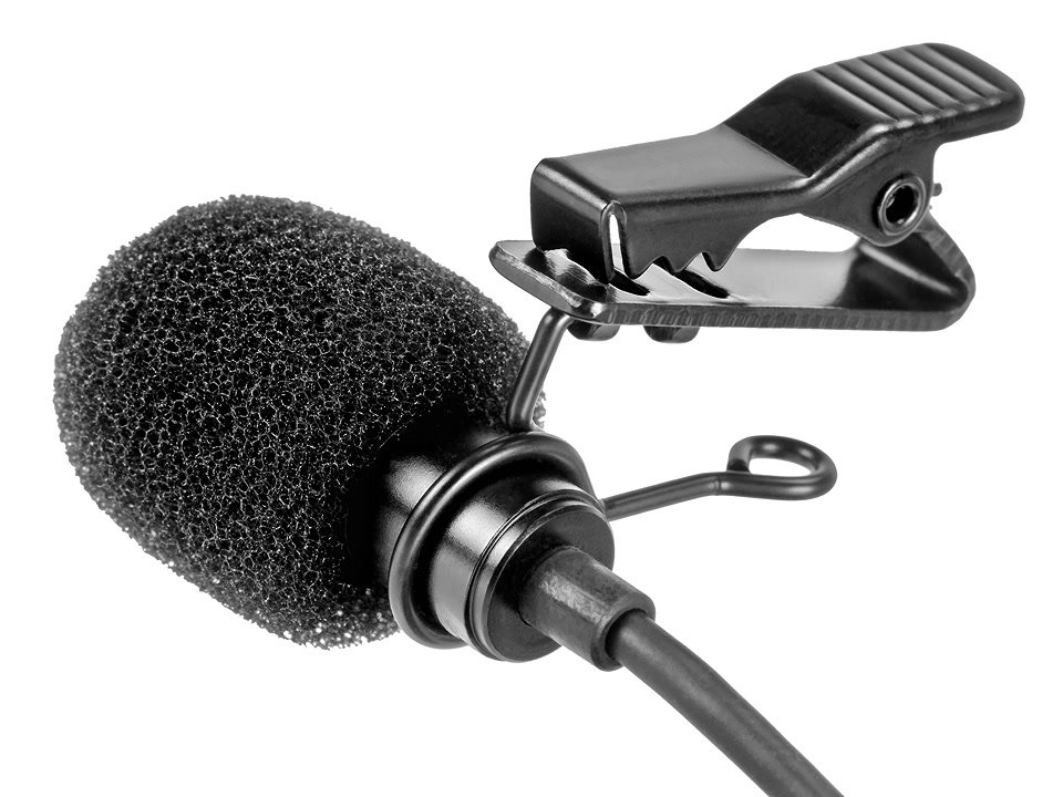 Aputure A.lav Ansteckmikrofon / Lavaliermikrofon mit 3.5mm Kleinklinke.