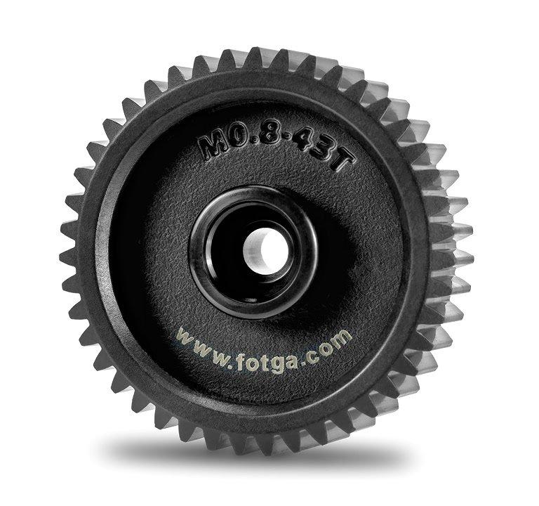 Fotga M0.8-43T 43mm Mod 0.8 Zahnrad für DP500 II Follow Focus.