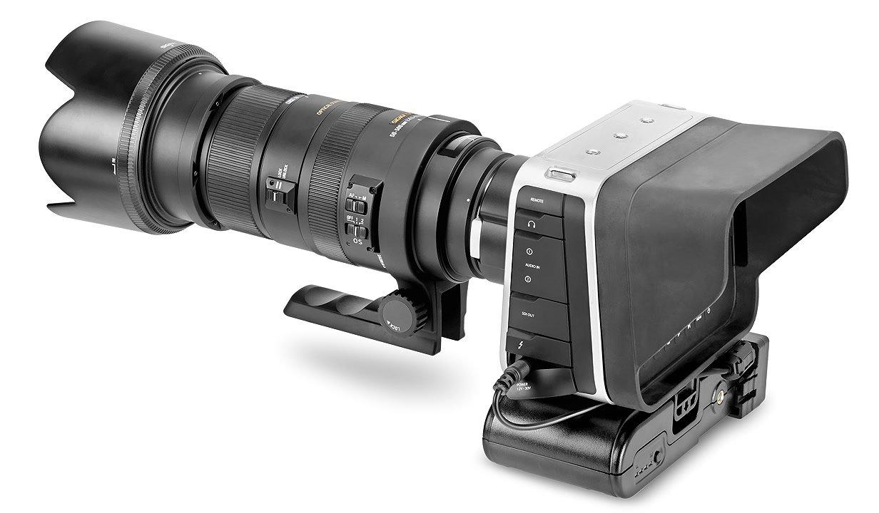 BMCC mit Powerbase 70 XP-L70V von Pro-X.
