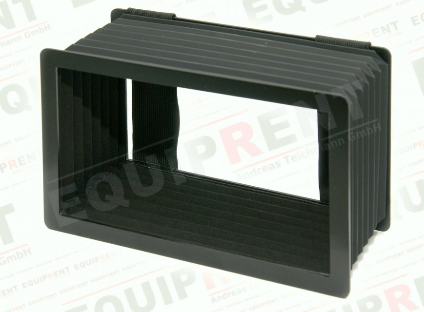 Balgenblendschutz für 18cm / 7 Zoll Monitore.
