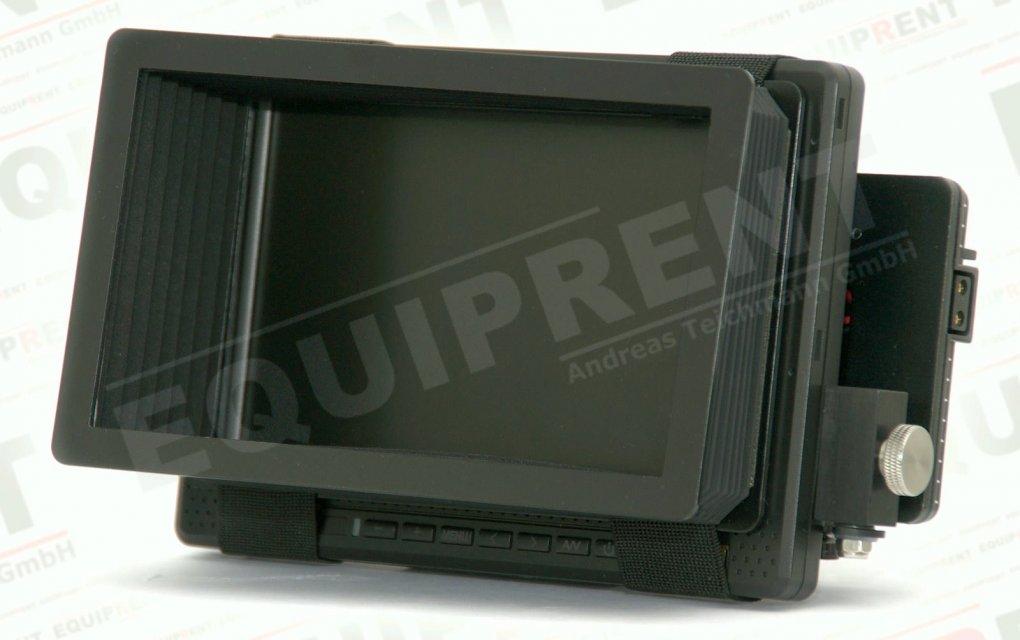 Balgenblendschutz für 18cm / 7 Zoll Monitore Foto Nr. 2