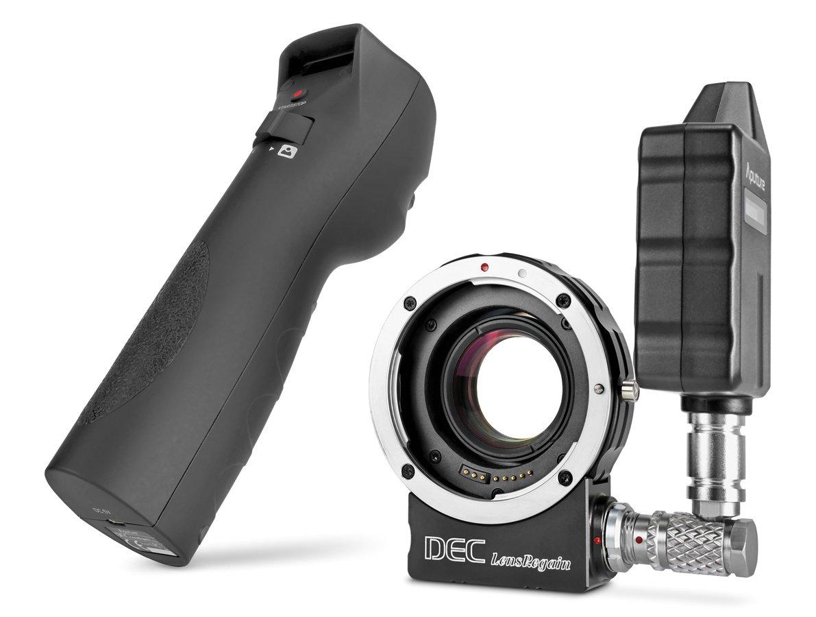Aputure DEC LensRegain Objektivadapter mit Focal Reducer (Canon EF zu MFT).