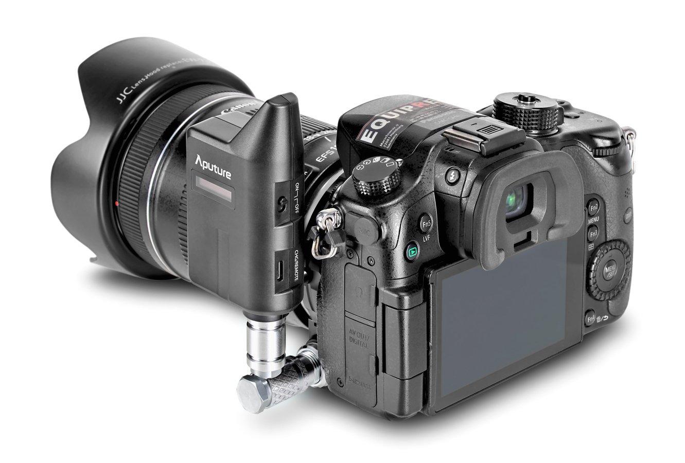 Panasonic GH4 mit LensRegain von hinten links.