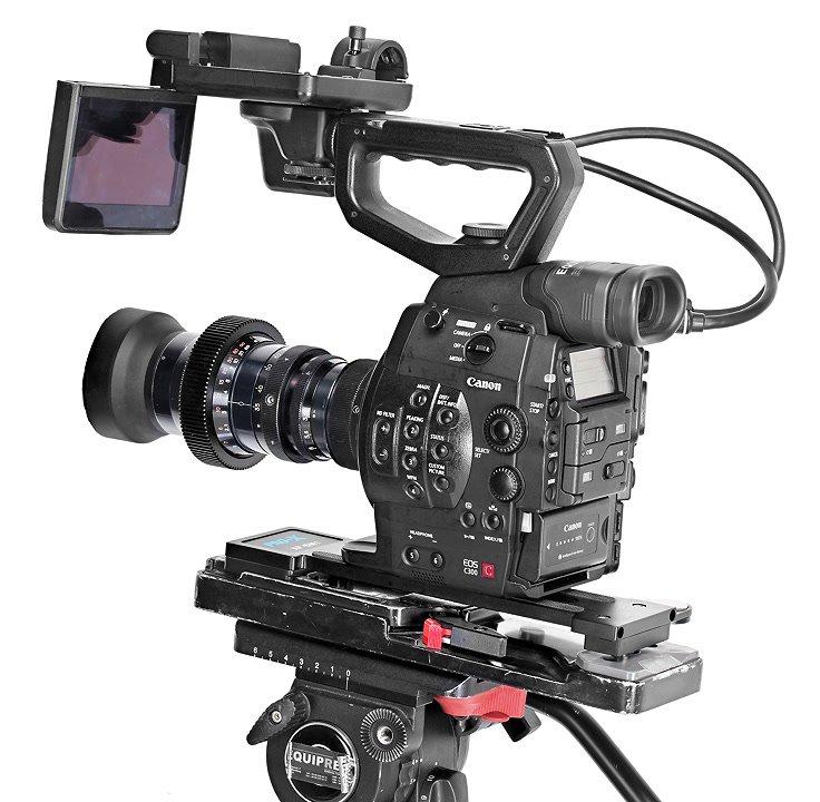 Canon C300 mit VCT-14.