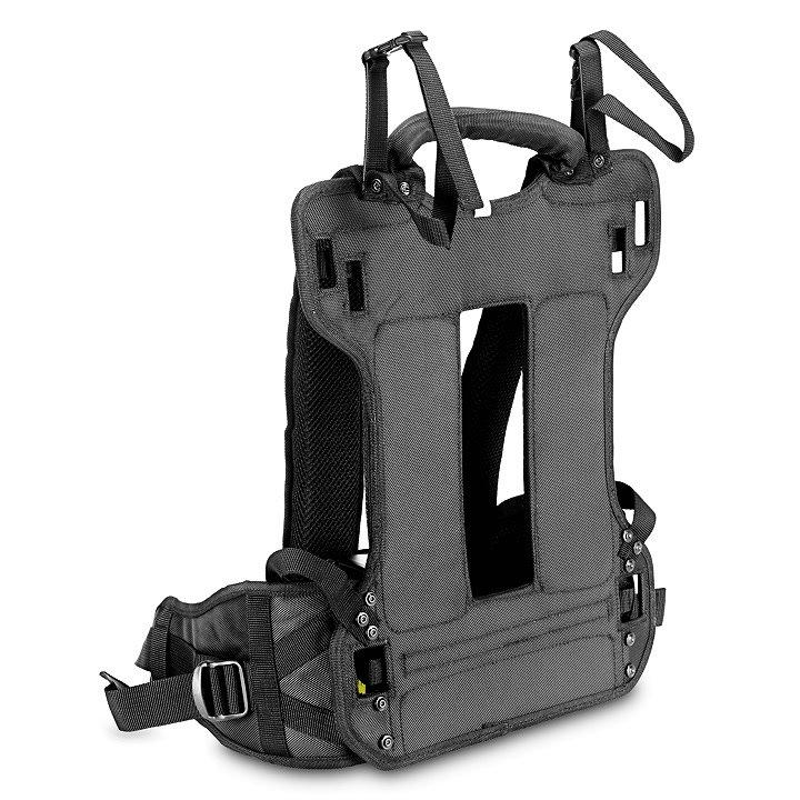 Rückseite B&W BPS Backpack System.