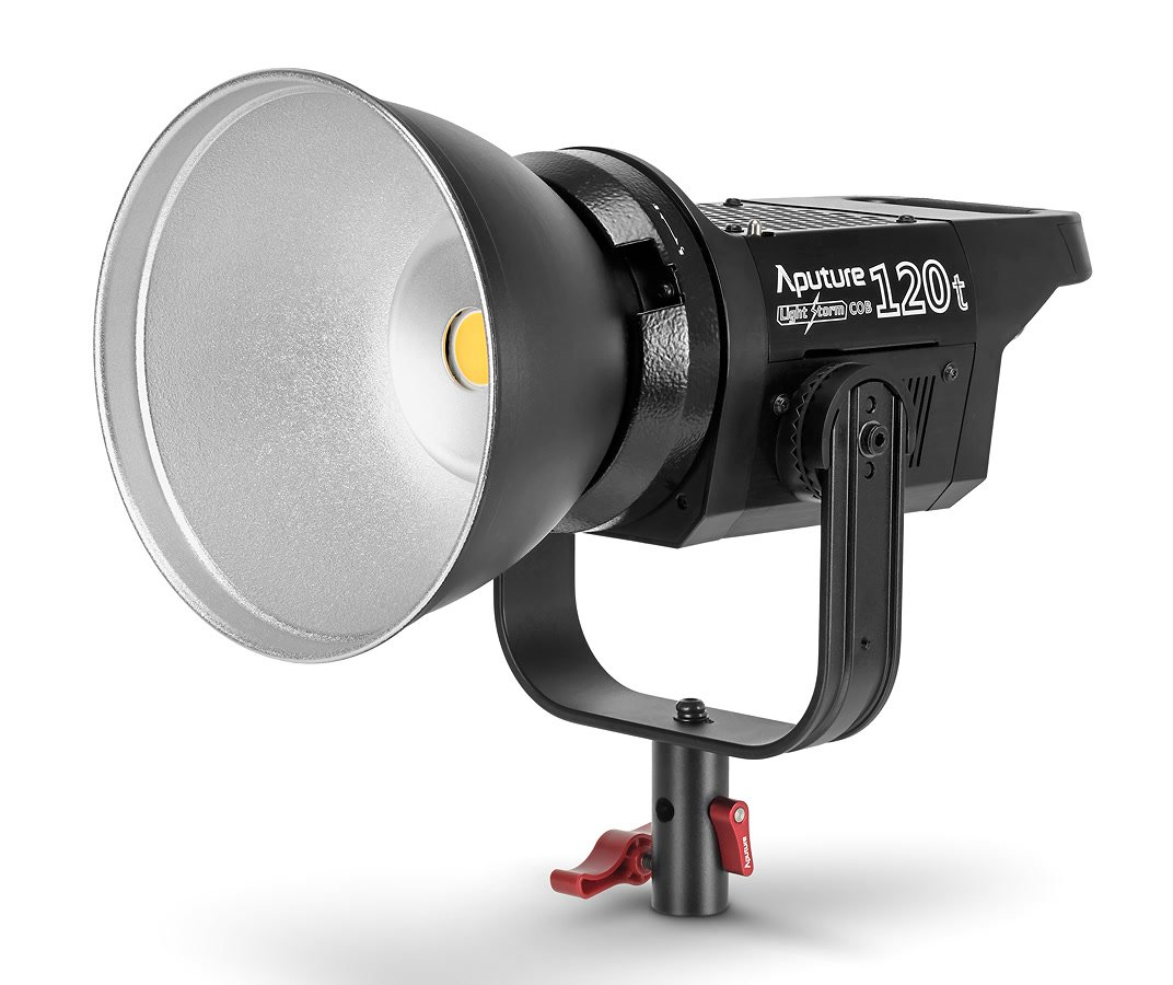 Aputure Light Storm COB 120t Kunstlicht LED-Leuchte mit Bowens Mount.