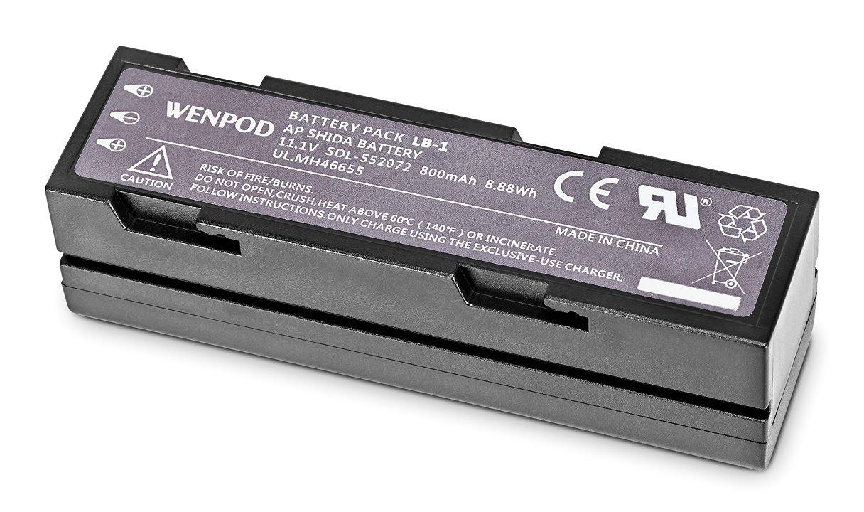 Unterseite WenPod LB-1 Akku für GP1 SP1 Rollei eGimbal G5.