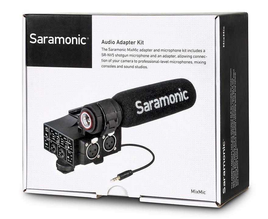 Verpackung Saramonic MixMic.