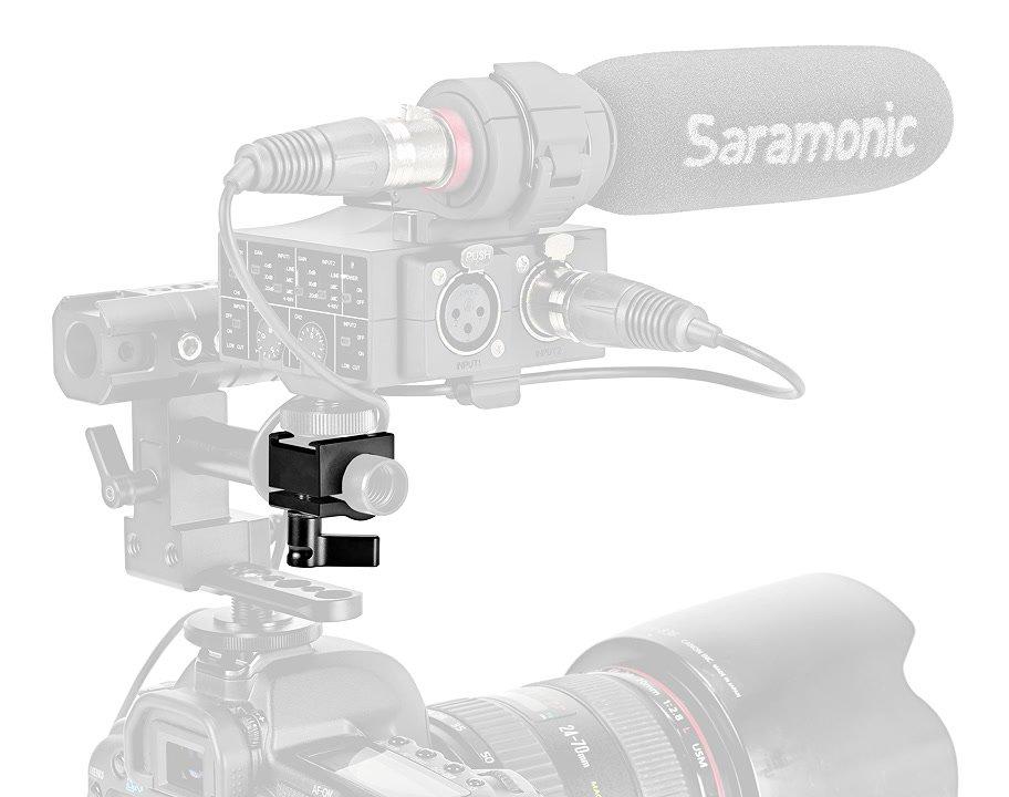 Audioadapter auf 15mm Rods.