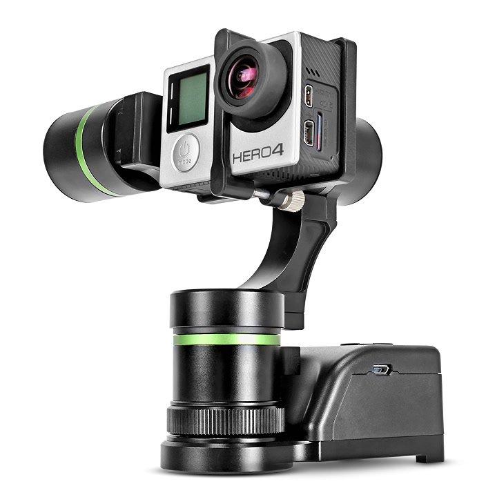 GoPro auf Gimbal Empfänger.