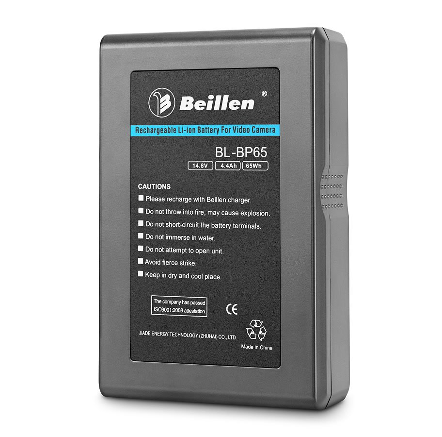Beillen BL-BP65 super flacher Lithium Ion V-Mount Akku (65Wh).