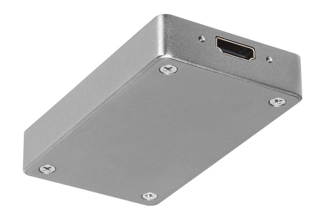 Unterseite UBS 3.0 Grabber mit HDMI Eingang.