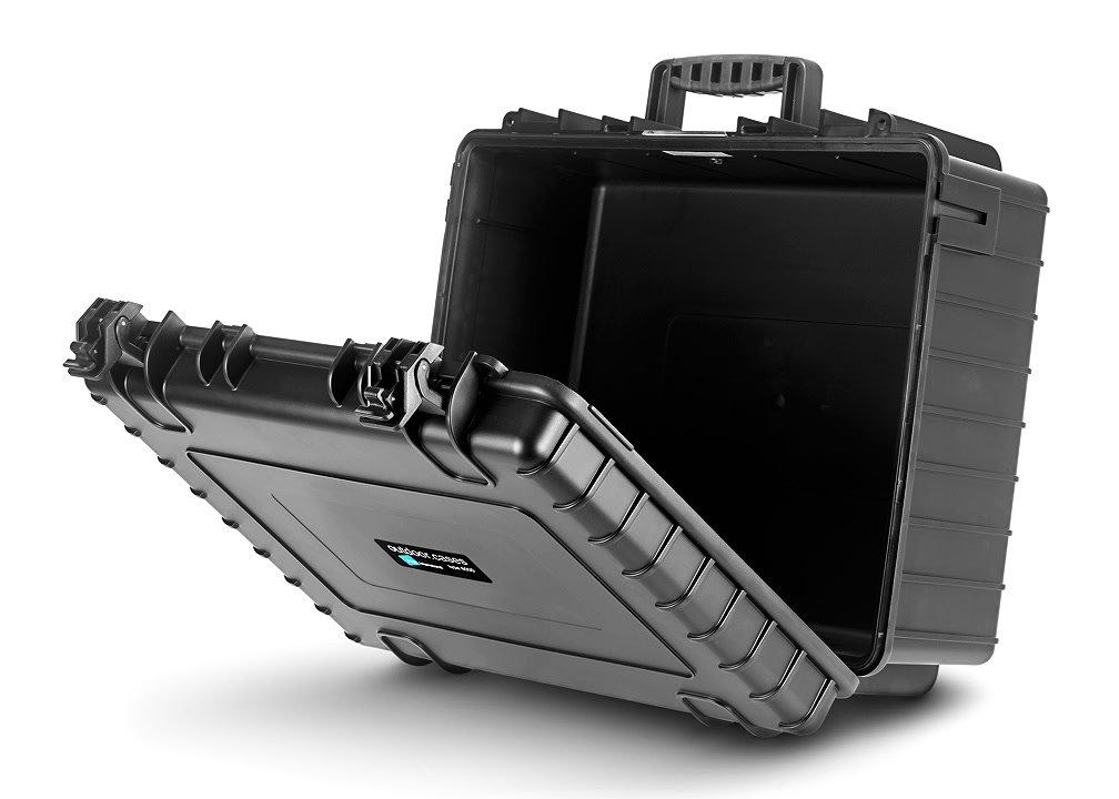 B&W type 6000/B großer schwarzer Koffer für DSLR oder Camcorder.