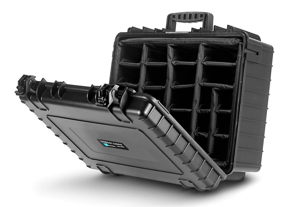 b w type 6000 b rpd koffer equiprent shop. Black Bedroom Furniture Sets. Home Design Ideas