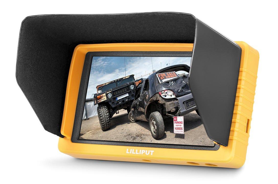 Lilliput Q5 Full HD Monitor mit 14cm / 5.5 Zoll und HDMI / SDI Cross Converter.