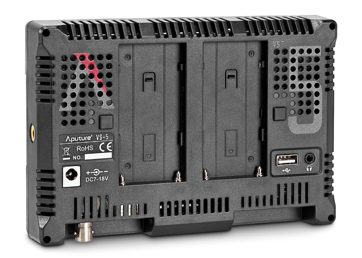 Rückseite Aputure VS-5 Monitor.