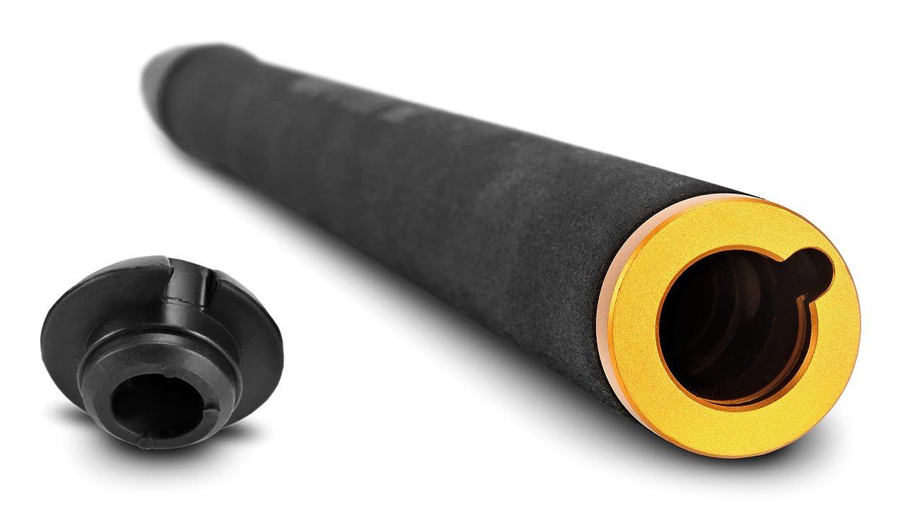 Tonkabel ist aus der Unterseite der Tonangel herausführbar.