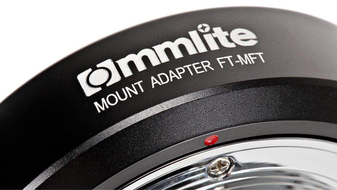 commlite cm ft mft adapter four thirds mft equiprent shop. Black Bedroom Furniture Sets. Home Design Ideas