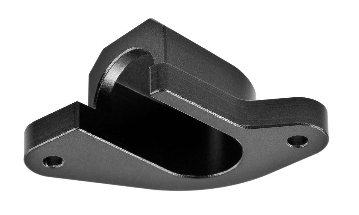 Abdeckkappe ist aus Metall.