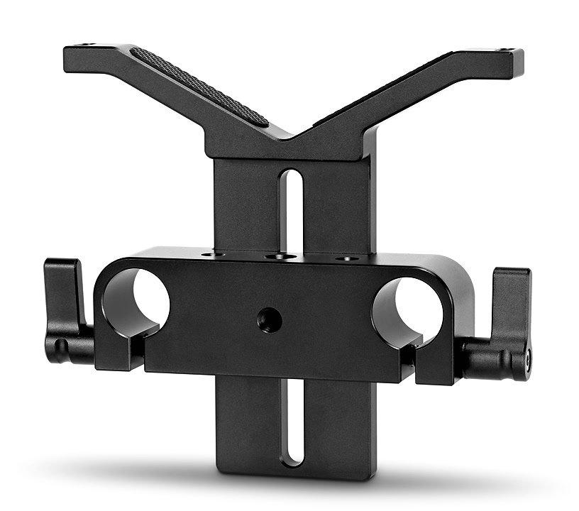 SmallRig universelle höhenverstellbare Objektivstütze für 15mm Rods (1784).