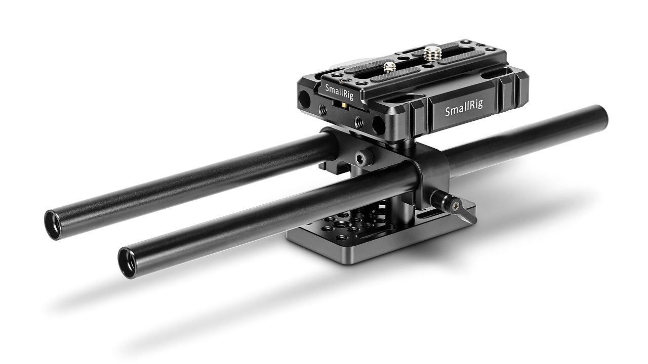SmallRig massive Baseplate ARCA Style mit 15mm Rod Support.