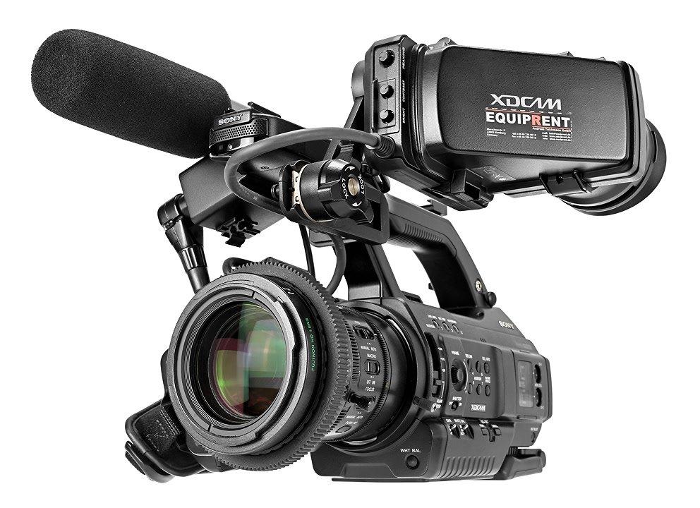 Sony PMW300 mit durchgehendem Zahnring mt Mod 0.8.