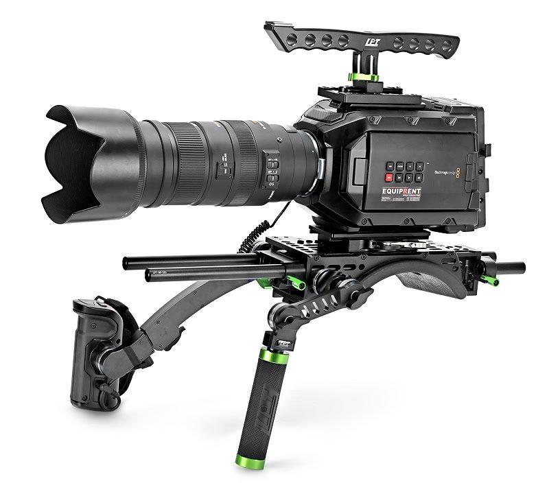 Lanparte URSK-01 einfaches Rig für Blackmagic URSA Mini.