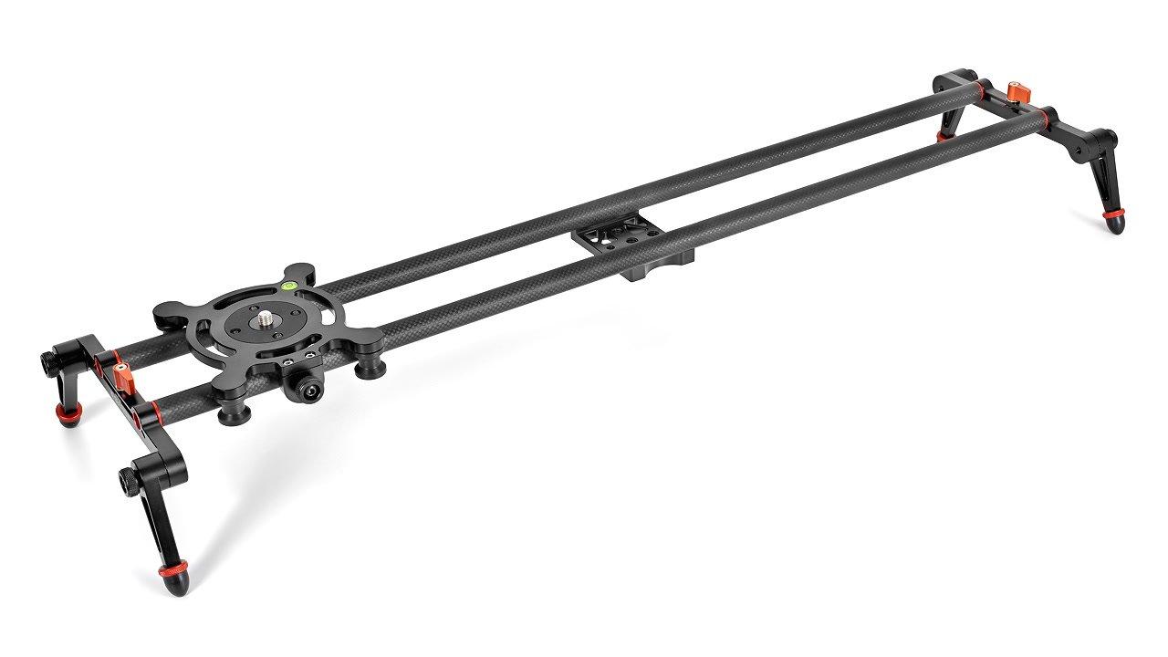 Der Carbon Slider ist ca. 80cm lang.
