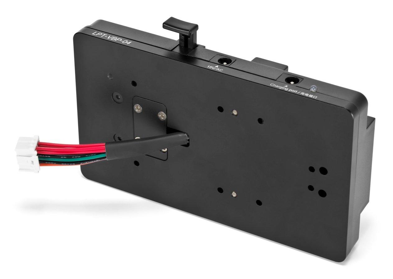 Der Stecker passt in die URSA Kamerserie von Blackmagic.