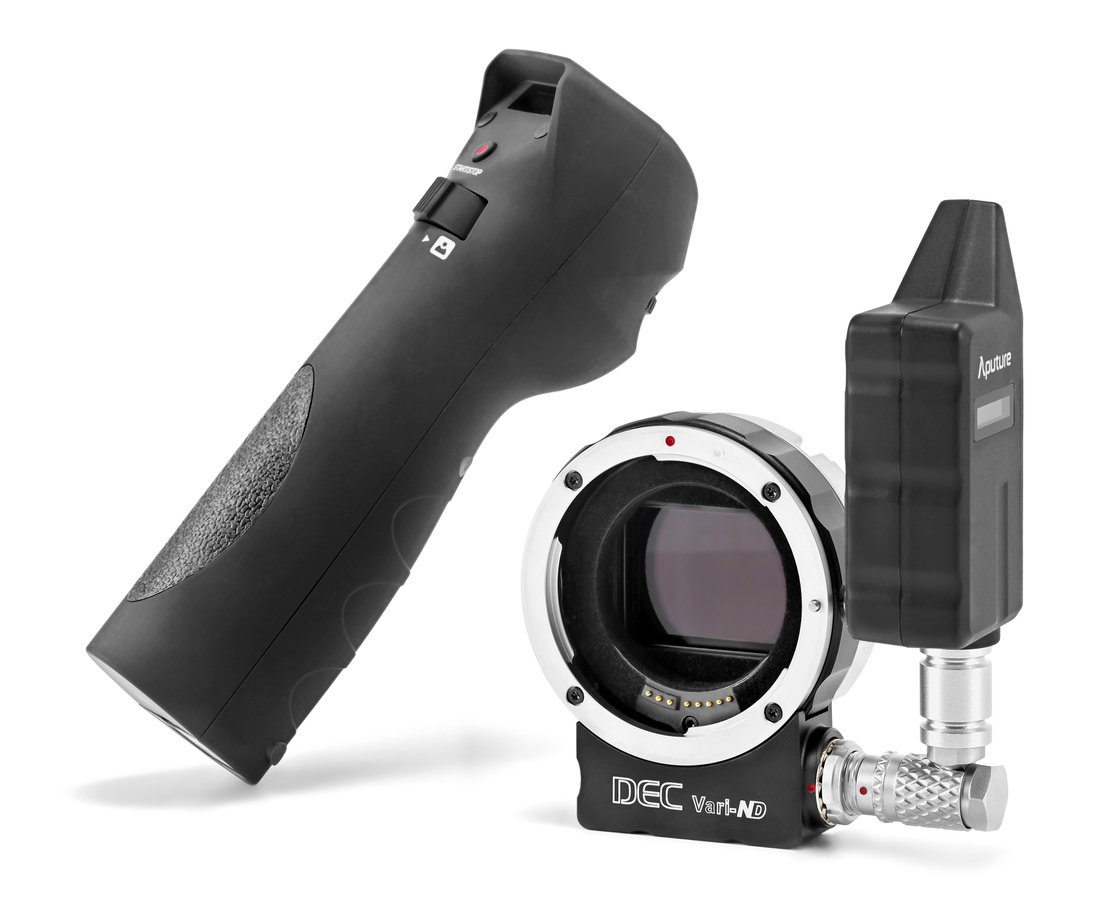 Aputure DEC Vari-ND (E-Mount) fernbedienbarer Canon EF/EF-S zu Sony E-Mount Adapter.