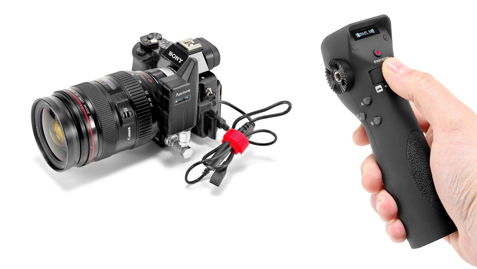 Canon EF Objektive lassen sich bequem fernbedienen.
