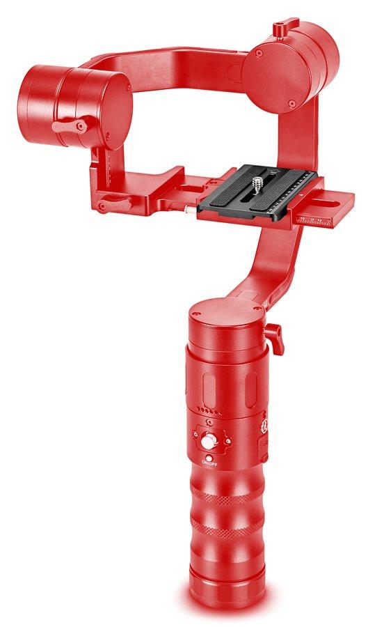 Beholder EC1 mit fertig montierter Schnellwechselplatte.