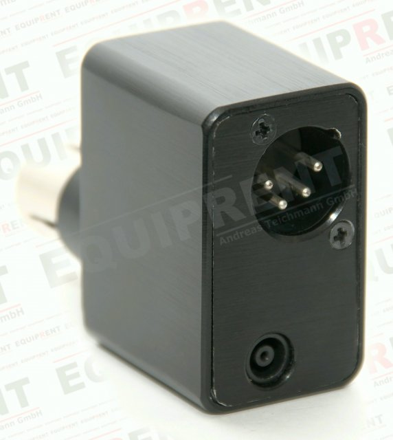 Adapter kompatibler BP-U Akku zu Sony PMW-F3K/F3L (XLR 4-Pol).
