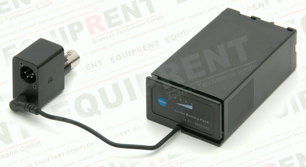 Adapter kompatibler BP-U Akku zu Sony PMW-F3K/F3L (XLR 4-Pol) Foto Nr. 3