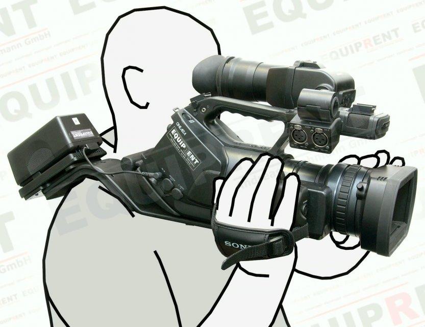 ROKO PTM-DCM/PMW-180 D-Tap auf Sony PMW Camcorder Adapterkabel (180cm) Foto Nr. 1