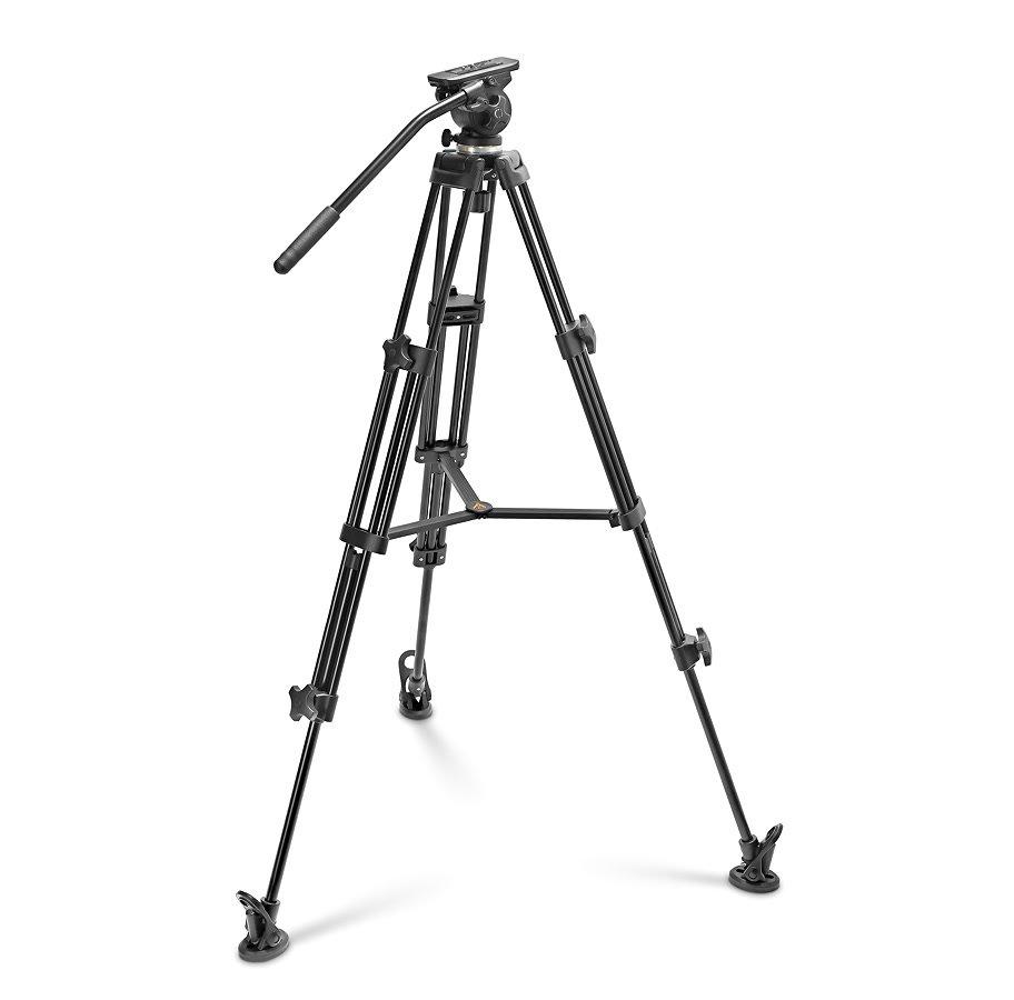 E-IMAGE Stativ Kit EI-7050-AA / WF-727 für DSLR und Camcorder (77-160cm).
