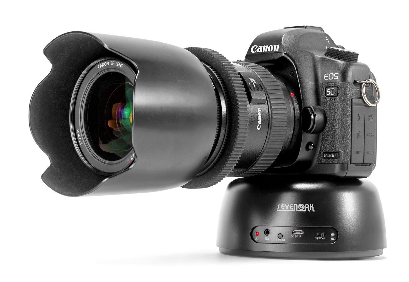 Canon 5D Mark II auf SevenOak EBH04 Panoramakopf.