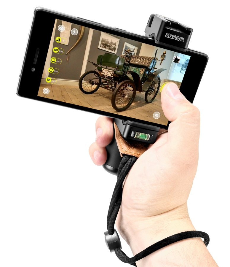 SevenOak SK-PSC1 kompakter Griff mit Schlaufe für Smartphones.
